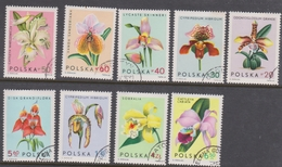 Poland 1590-98 1965 Orchids, Used - Orchids