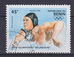 Benin 1995 Mi. 624    45 Fr Olympische Sommerspiele 1996, Atlanta Wasserball Waterpolo - Benin – Dahomey (1960-...)