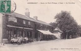 14 Annebault, Route De Pont L'Evèque à Caen, Le Carrefour - Francia