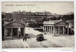 BERGAMO PANORAMA DA PORTA NUOVA TRAM - Bergamo