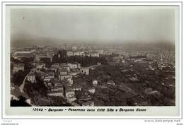 BERGAMO Fotografica Panorama Della Città Alta E BERGAMO Nuova - Bergamo