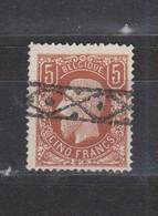 COB 37 Oblitération Roulette - 1869-1883 Leopold II