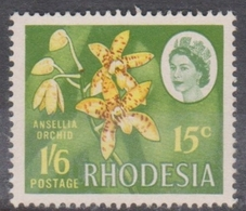 Rhodesia 410 1968 Dual Currency Issue,15c-1sh6p, Used - Unclassified