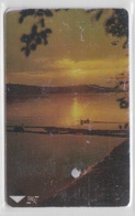 UKRAINE 1998 SUNSET OVER DNIEPER RIVER - Ucraina