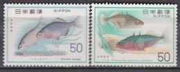 JAPON 1976 1198 Et 1199 ** POISSONS - Poissons