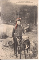 74 Chatel Costume Costumes Savoie Depart Pour Montagne Chevre Goat Foulard Rouge Champery 13 - Grèce