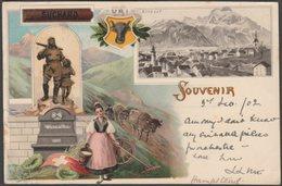 Souvenir, Altdorf, Uri, 1902 - Suchard Reklame Litho AK - UR Uri