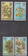 Seychelles 280-83 1970 Flowers, Used - Unclassified