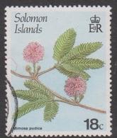 Solomon Islands S 583 1987 Flowering Plants,18c Mimosa Pudica, Used - Unclassified
