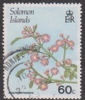Solomon Islands S 593 1987 Flowering Plants,60c Acadia Farnesiana, Used - Unclassified