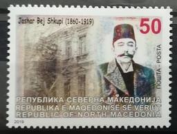 MACEDONIA 2019 - 100th Ann. Of The Death Of Jasar Bej Skupi MNH - Macedonië