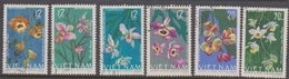 Vietnam 422-27 1966 Orchids, Used - Orchids