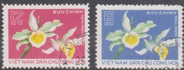 Vietnam 848-49 Orchids, Used - Orchids