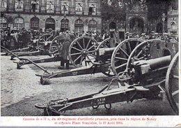 NANCY  -  Canons De 77 Du 40e Rég. D' Artillerie Prussien, Pris Dans La Région De Nancy Et Exposés Place Stanislas - - Nancy