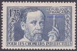 France Pasteur- N°  385 * Célébrité - Pour Les Chômeurs Intellectuels - Louis Pasteur