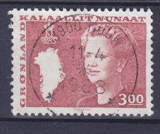 Greenland 1988 Mi. 179      3.00 Kr Königin Queen Margrethe II. DELUXE Cancel NUUK 1988 (Cz. Slania) - Ongebruikt
