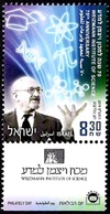 ISRAEL 2019 - Weizmann Institute Of Science 70th Anniversary - A Stamp With A Tab - MNH - Chemistry
