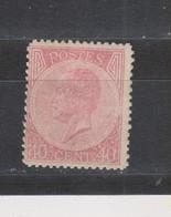 COB 20 * Neuf Avec Charnière Légère - 1865-1866 Profil Gauche