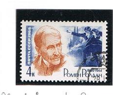 URSS - SG 3247   - 1966   R. ROLLAND, WRITER  -  USED  - RIF. CP - 1923-1991 USSR