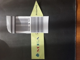 Middle East Airline MEA LEBANON Suitcase Ticket - Avions