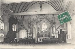 76 Bolleville Intèrieur De L'église - Autres Communes