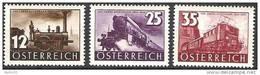 Österreich Autriche Austria 1937: 100 Jahre Eisenbahn Chemin De Fer Railways Michel-# 646-648 ** MNH (Michel 18.00 Euro) - Eisenbahnen