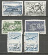 Finland 1963 Used Stamps 6v - Finlandia