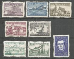 Finland 1963 Used Stamps 8v - Finlandia