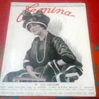 FEMINA N°259 Novembre 1911 Lina Cavalieri L'art D'être Belle,Mlle Provost Comédie Française,Leçon De Tango - 1900 - 1949