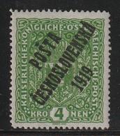 TCHECOSLOVAQUIE - N°60 * (1919) Timbre D'Autriche Surchargé - Ongebruikt