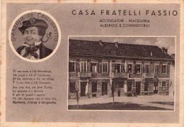CASTELL  ALFERO , Callianetto , Pubblicitaria Gianduia , Albergo Casa Fratelli Fassio - Asti