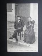CP FRANCE (V1812) LANDES 40 (2 Vues) SCèNES ET TYPES LANDAIS - Le Filage De La Laine N°9 1913 - France