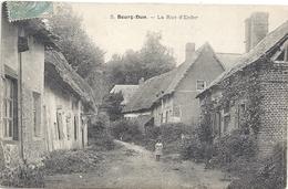 76 Le  Bourg-Dun La Rue Enfer (animation) - Other Municipalities