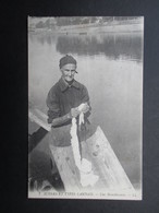 CP FRANCE (V1812) LANDES 40 (2 Vues) SCèNES ET TYPES LANDAIS - Une Blanchisseuse - 1913 - France