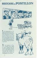 """Buvard """"Histoire Du POSTILLON"""". - Lebensmittel"""