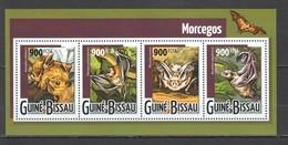 ST970 2015 GUINE GUINEA-BISSAU ANIMALS BATS 1KB MNH - Fledermäuse