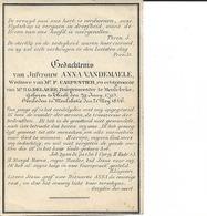 Vandemaele Anna Tielt-Meulebeke, Vrouw Burgemeester, °1793-06-29 +1846-05-25 - Godsdienst & Esoterisme