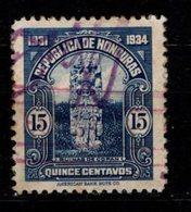 HONDURAS - 1931 - YT N° 233 - Oblitéré - Ruines De Copan - Honduras