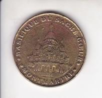 Medaille Jeton Touristique Mdp Monnaie De Paris Sacre Coeur De Montmartre Paris (en L'état) - Monnaie De Paris