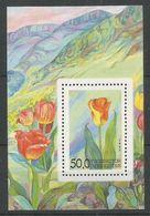 Ouzbékistan 1993 BL 2 ** Fleurs Tulipes - Ouzbékistan