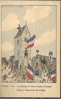 Hansi Le Printemps   En Alsace ( D'après L' Estampe ) - Hansi