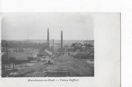 1 Cpa Marchienne-au-Pont : Usines Goffart - België