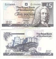 Scotland - 5 Pounds 1999 UNC Lemberg-Zp - Schotland