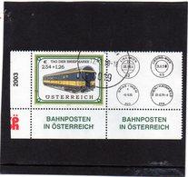 2003 Austria -  Giornata Del Francobollo - 2001-10 Usati