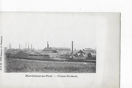1 Cpa Marchienne-au-Pont : Usines Germain - Belgique