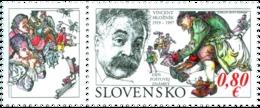 Slovakia - 2019 - Postage Stamp Day - Vincent Hložník - Mint Stamp With Tab - Nuovi