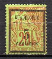 Col17  Colonie Guadeloupe  N° 3 Neuf X MH Signé Cote 6,50 € - Nuevos