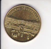 Medaille Jeton Touristique Château De Versailles Musées Et Châteaux De France - Tourist