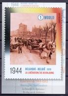Belgie - 2019 - OBP - 5  Max. Kaarten - ** Wereldoorlog II - De Bevrijding / La Libération ** Uitgifte Bpost - Maximum Cards