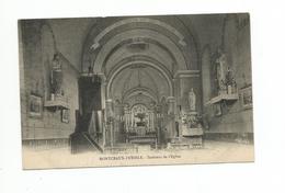 MONTCEAUX-l'ETOILE. - Intérieur De L'Eglise - Frankreich